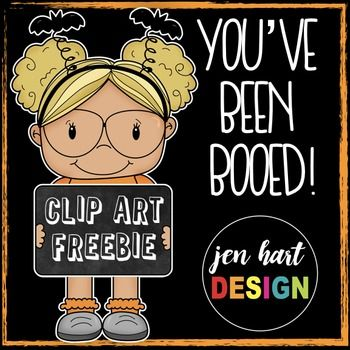 Free Halloween Clipart (You've Been Booed!) | Clip Art ...