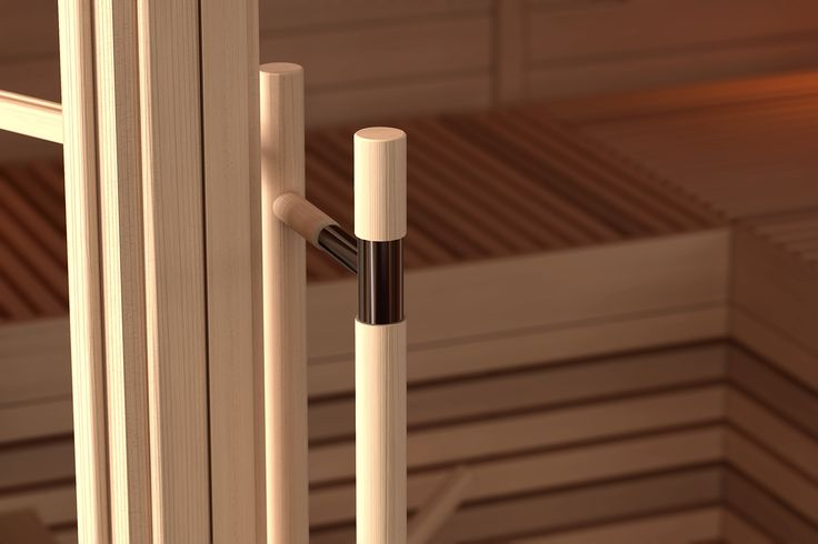 When you do your sauna reshuffle. Remember to choose you saunas door right and keep your focus on little detail. Because details makes your sauna more beautiful.  #Sauna #SaunaBenches #Lauteet #Saunanlauteet