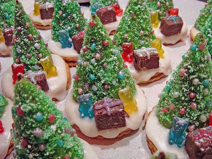 Weihnachtsbäumchen zum Essen, ein leckeres Rezept aus der Kategorie Konfiserie. Bewertungen: 332. Durchschnitt: Ø 4,7.