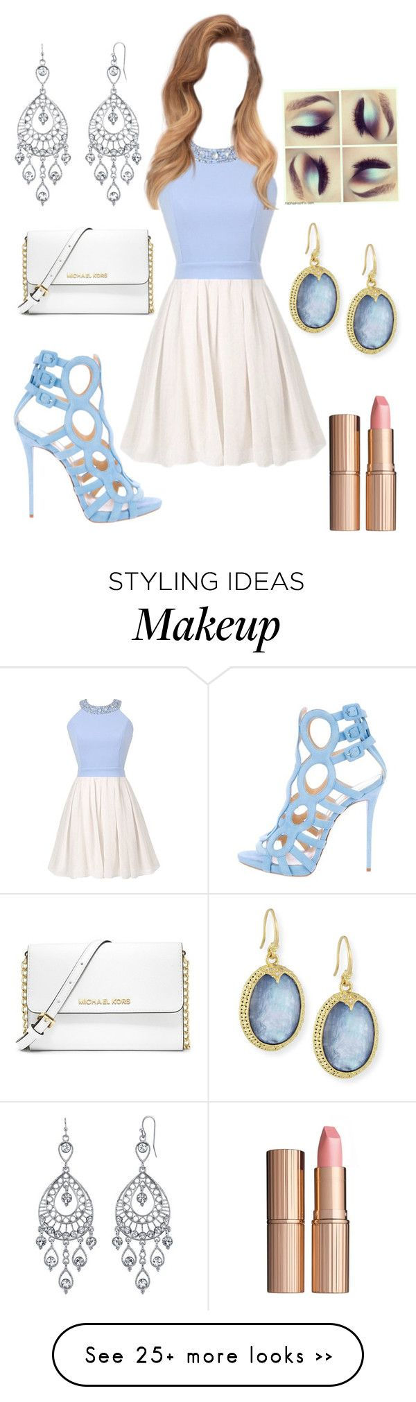 """""""Untitled #138"""" by scasey-2 on Polyvore featuring 1928, Armenta, Giuseppe Zanotti, MICHAEL Michael Kors and Charlotte Tilbury"""