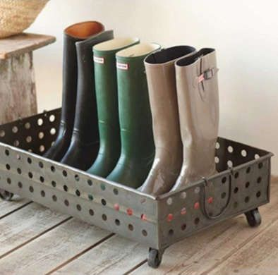 11 Smart Ways To Organize Your Winter Footwear. Boot StorageCloset ...