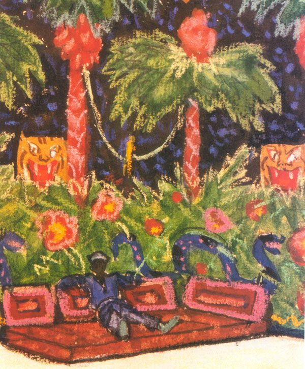 Коллекция работ художника Александра Бенуа (221 работ)