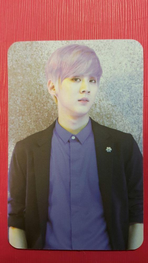 TEENTOP CHUNJI #1 Natural Born Official Photocard 6th Album Teen Top