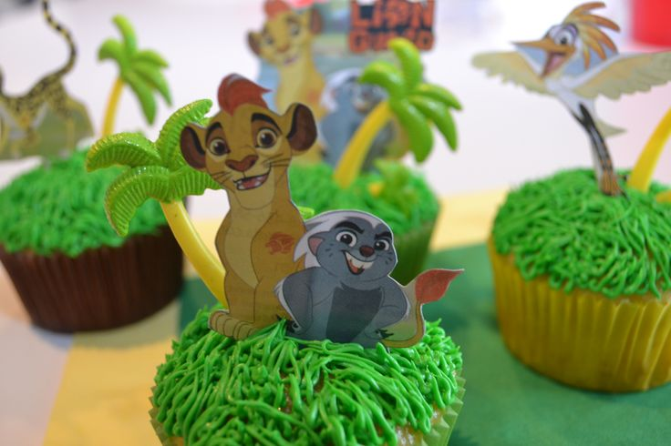 Lion Guard has become a popular show to watch at our house. We have always been a big fan of Lion King and now my kids love this new tv cartoon series. Cupcake toppers are not available for …