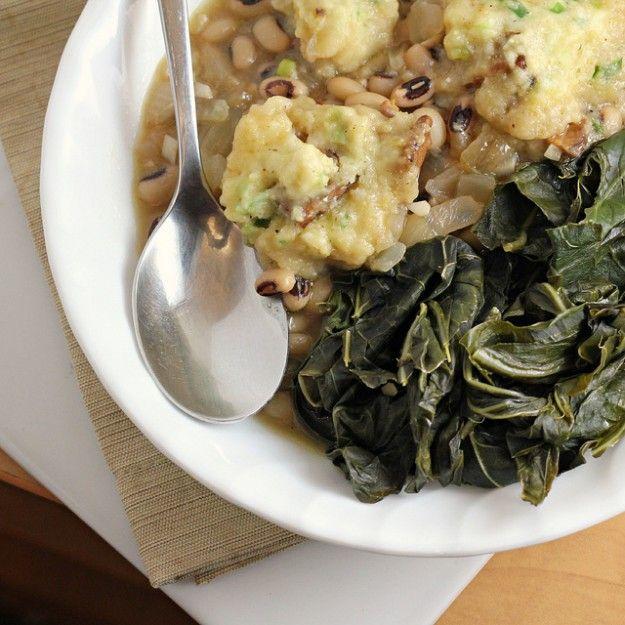 Black-Eyed Peas and Cornmeal Dumplings Recipe « Chef Marcus Samuelsson