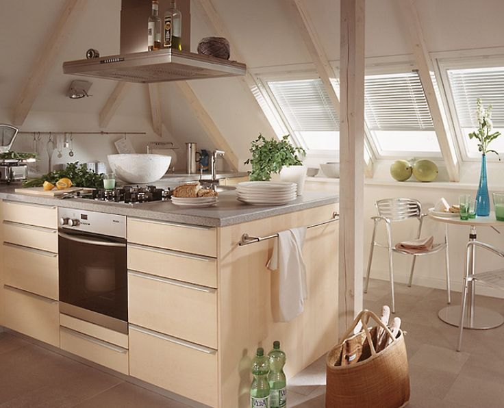 17 best kitchen inspiration images on Pinterest Kitchen, Kitchen - kleine küche dachschräge