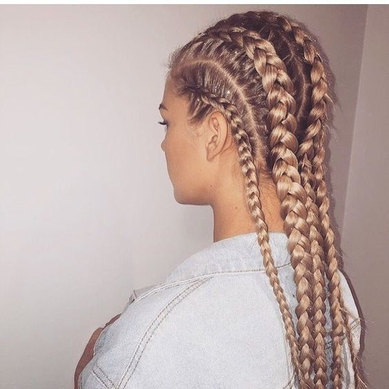 29 Trendy Braided Hairstyles For Long Hair To Look Amazingly Awesome : Page 11 of 26 : Creative Vision Design