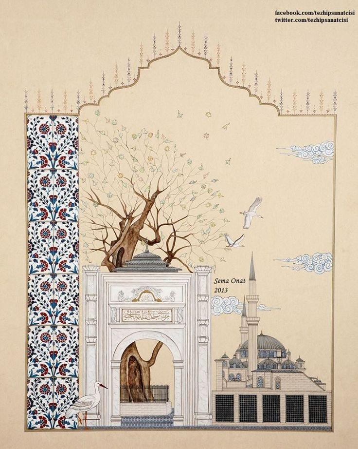 """Müzehhibe: Sema Onat """"Çınarın Gölgesinde Bir Sahabe (Eyüp Sultan Hz.)"""" isimli eser."""
