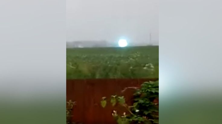 A unique video of a giant fireball moving across a Siberian field could be the latest proof that ball lightning is not an urban myth, but a real natural phenomenon.