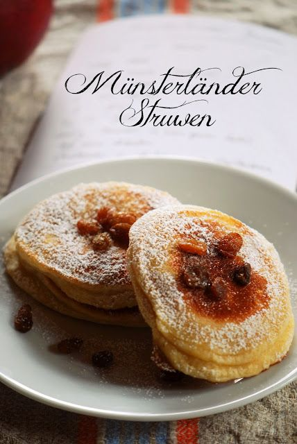 Münsterländer Struwen [Westfälische Küche] #hefepfannkuchen #münsterland #münsterfood