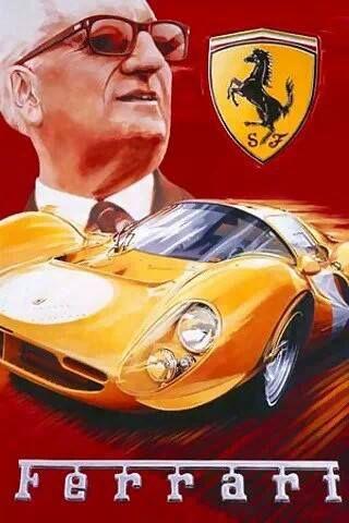Vintage Italian Posters ~ #Italian #vintage #posters ~ Ferrari