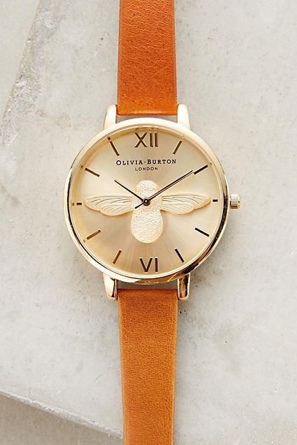 Moulded Bee Watch - anthropologie.com
