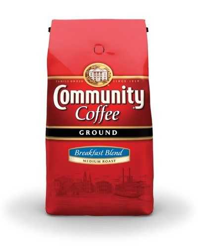 Community Coffee Ground Coffee Breakfast Blend Pack of 2 * You can find out more details at the link of the image.