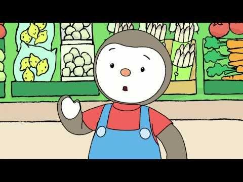 T'choupi et ses amis - Les courses d'anniversaire (EP.7) - YouTube