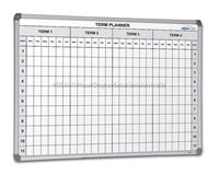 School Term Planning Whiteboards for staff rooms, faculty lounges or even your own home.
