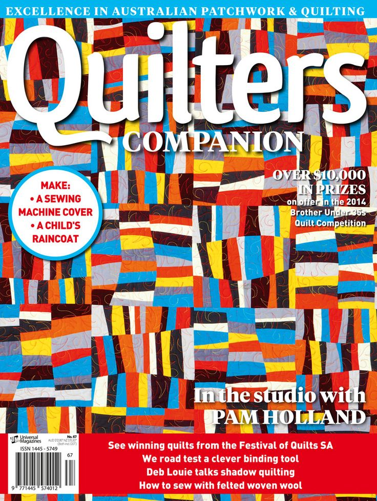 Quilters Companion #67 cover