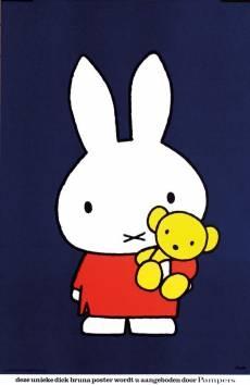 Nijntje en haar beer (Miffy) www.cooleouders.wordpress.com