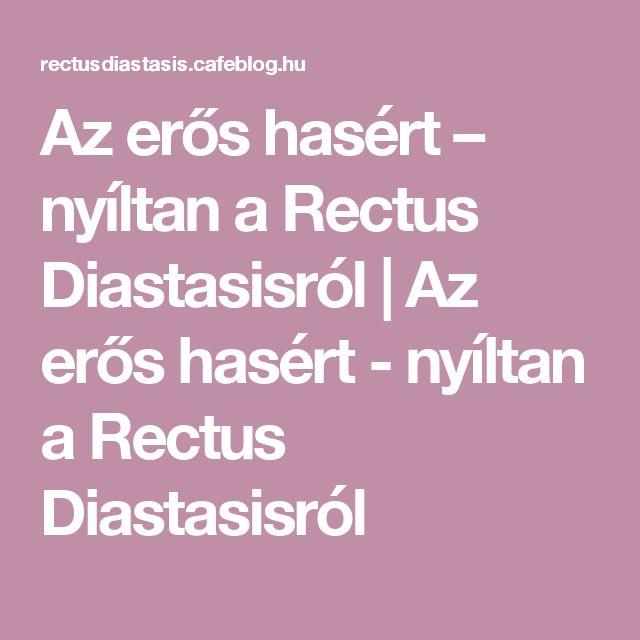 Az erős hasért – nyíltan a Rectus Diastasisról | Az erős hasért - nyíltan a Rectus Diastasisról