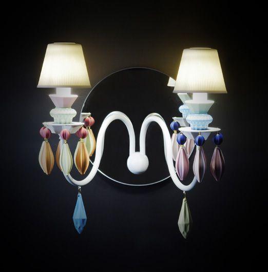 #excll #дизайнинтерьера #решения Осветительные приборы Lladró