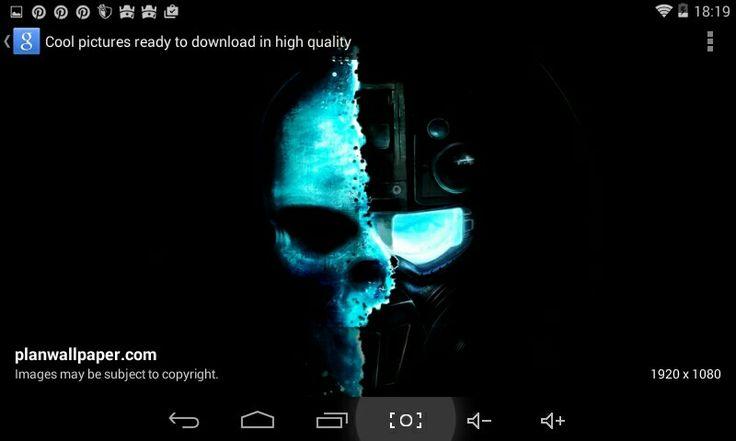 Half skull/half robot