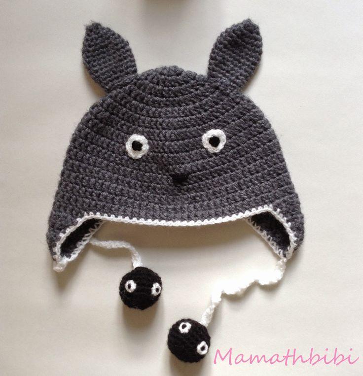 Le petit blog de Mamathbibi: Tuto : Bonnet Totoro
