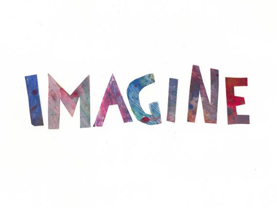 17 Best images about One Word: Imagine on Pinterest | Wall ...