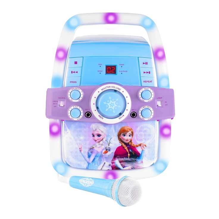 Toy Frozen Flashing Bar Karaoke - Disney Princesses