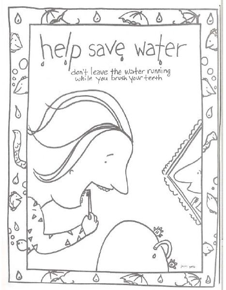 this free printable help save water coloring book is one of the many printable offerings to help with earth day lesson planning