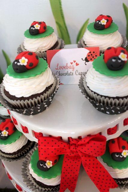 """Photo 10 of 27: Ladybug Birthday Party / Birthday """"Ladybug 2nd Birthday Party""""   Catch My Party"""