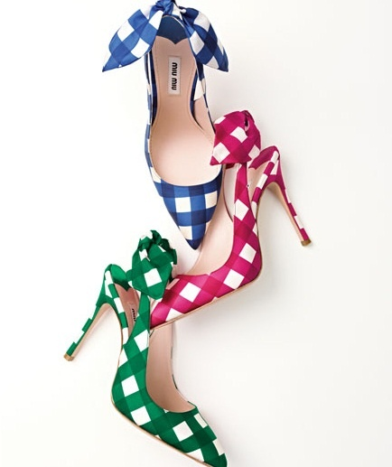 Miu Miu: Miumiu, Fashion, Style, Colors, Slingback Pumps, Summer Shoes, Picnics, Heels, Miu Miu