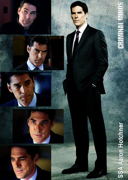 Aaron Hotchner aka Thomas Gibson, but <3 either way