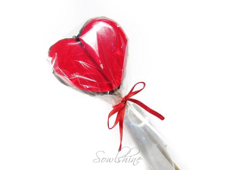 sOWLshine handmade jewelry - glass lollipop sowlshine.blogspot.com
