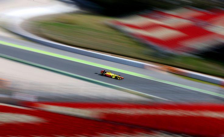 GP2 Pre-season testing. Circuito de Barcelona - Cataluna, 9 -11 March 2016. Team Jagonya Ayam Campos Racing, drivers : Sean Gelael & Mitch Evans. Credit to Gregory Heirman