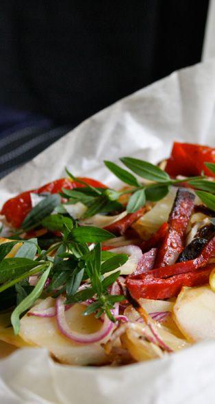 Potato–Chorizo Casserole