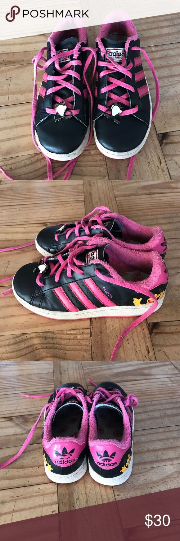 Adidas Campus shoes pink muppets Super cute sneakers Adidas Shoes Sneakers