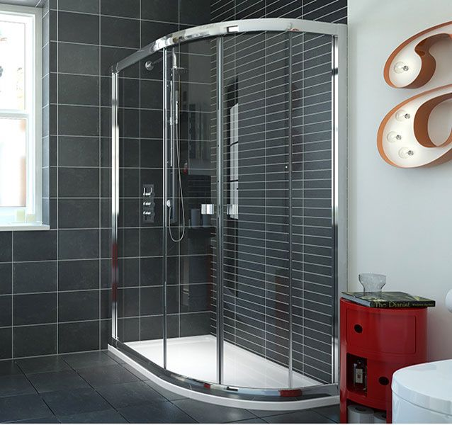 6mm Framed Offset Quadrant Shower Enclosure 1200 X 800mm - P-329C_900x760 scene square large
