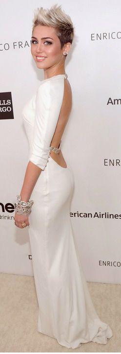 Miley Cyrus Elton John party