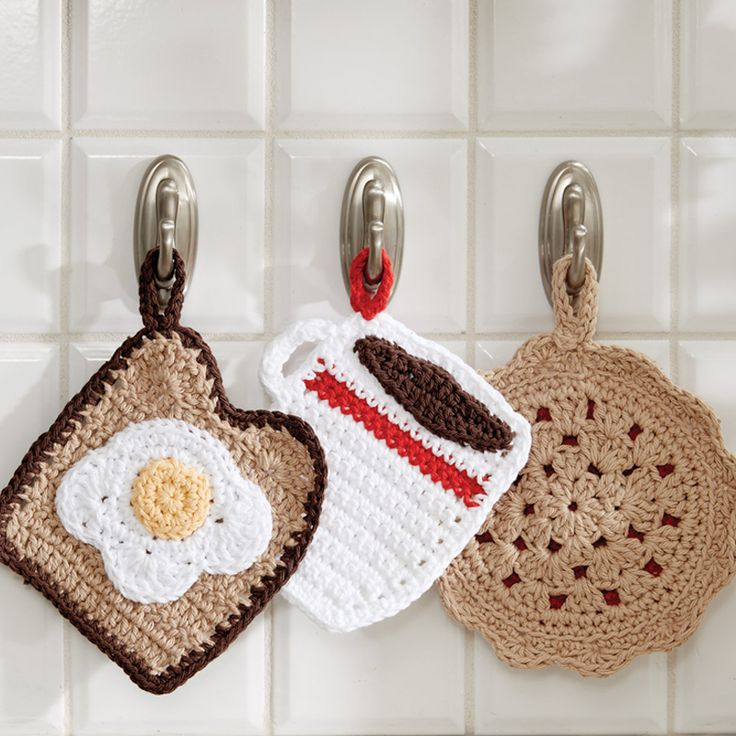 Free Crochet Patterns For Kitchen Accessories : 292 best images about Moore: Crochet on Pinterest Free ...