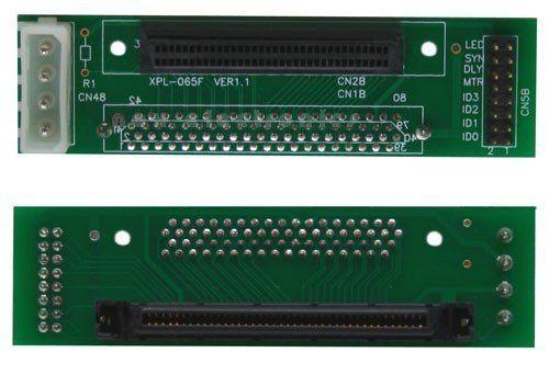 SCSI-SCA U320 Adapter - 80pol Buchse auf 68pol mini Sub D Buchse by Inline. $37.80