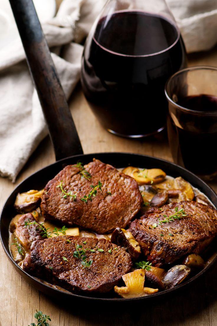 La recette peut être réalisée avec des pavés de porc ce sera tout aussi fondant, mais moins cher