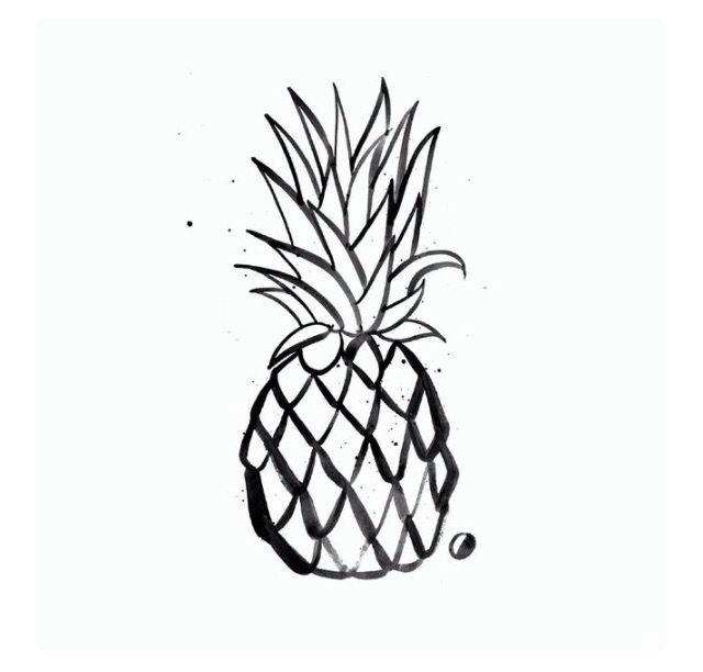 25  Best Ideas About Pineapple Tattoo On Pinterest