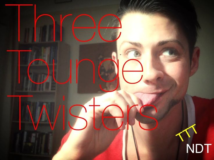 Tuesday Test: Three Toungue Twisters (recorded using iMovie app and Yout...