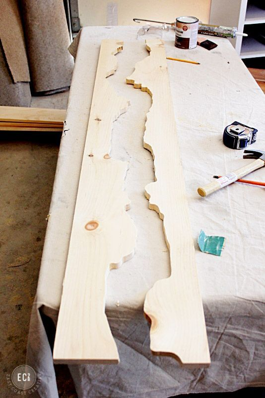 DIY Holz Spiegel Mehr
