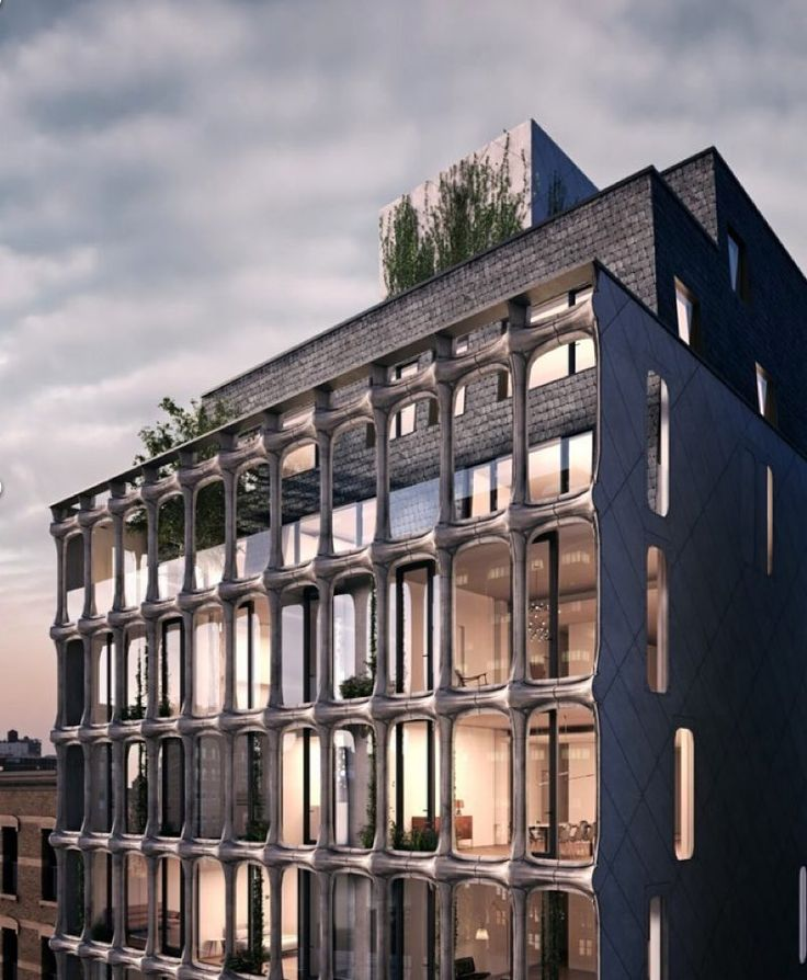 Located in New York's Soho Cast Iron Historic district XOCO32 is a 9-story 24-unit condo development. Named after the Catalan word for chocolate the project involves the renovation of a former Tootsie chocolate factory and a new structure cloaked in a custom cast aluminum screen by DDG Partners.  @ddgpartners by archpaper