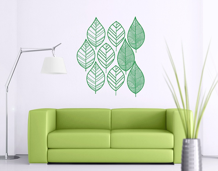 Leaves by www.yourdecalshop.co.nz