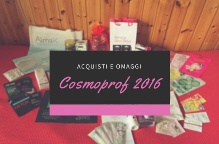 Cosmoprof 2016  | Cookies, tea & makeup