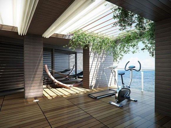Outdoor home gym indoor recreational ideas pinterest