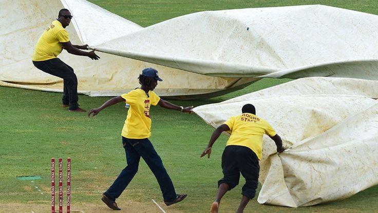 જમૈકા ટેસ્ટ : ભારતની જીતમાં વરસાદ બની રહ્યો છે વિલન