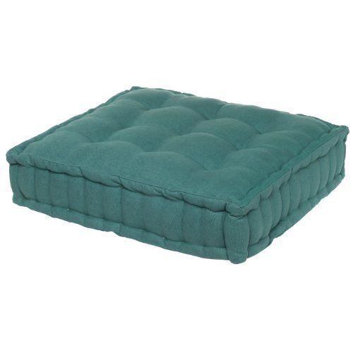 ASD Living for the Home Organic Floor Cushion, Teal asd Living,http://www.amazon.com/dp ...