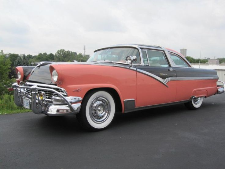 1956 Ford Crown Victoria Glass Top & 120 best Classic Ford Cars images on Pinterest | Vintage cars Car ... markmcfarlin.com